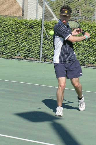 how to beat younger tennis player